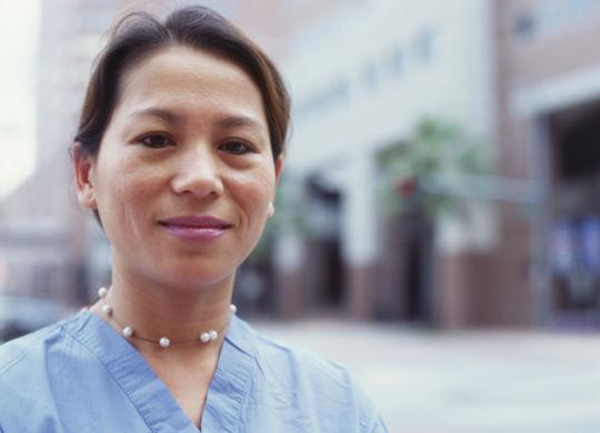 Asian-carer